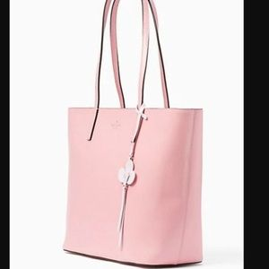 Kate Spade Pink Kelsey Tote Large Bright Carnation